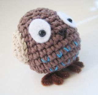 WT1741 Cutest Little Owl - Sewing, Needlecraft, Thread, Textile